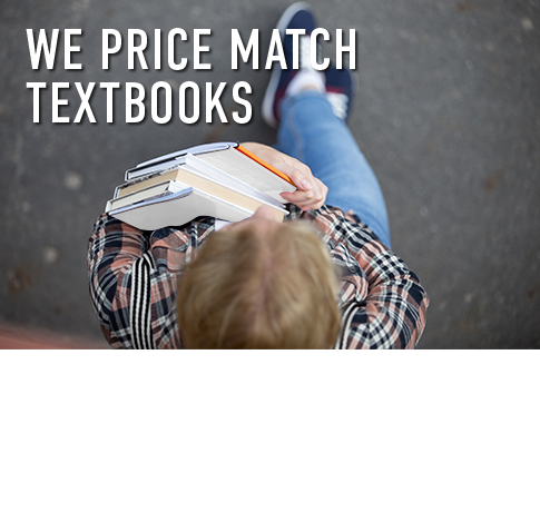 Picture of student. We price match textbooks. Click to shop now.